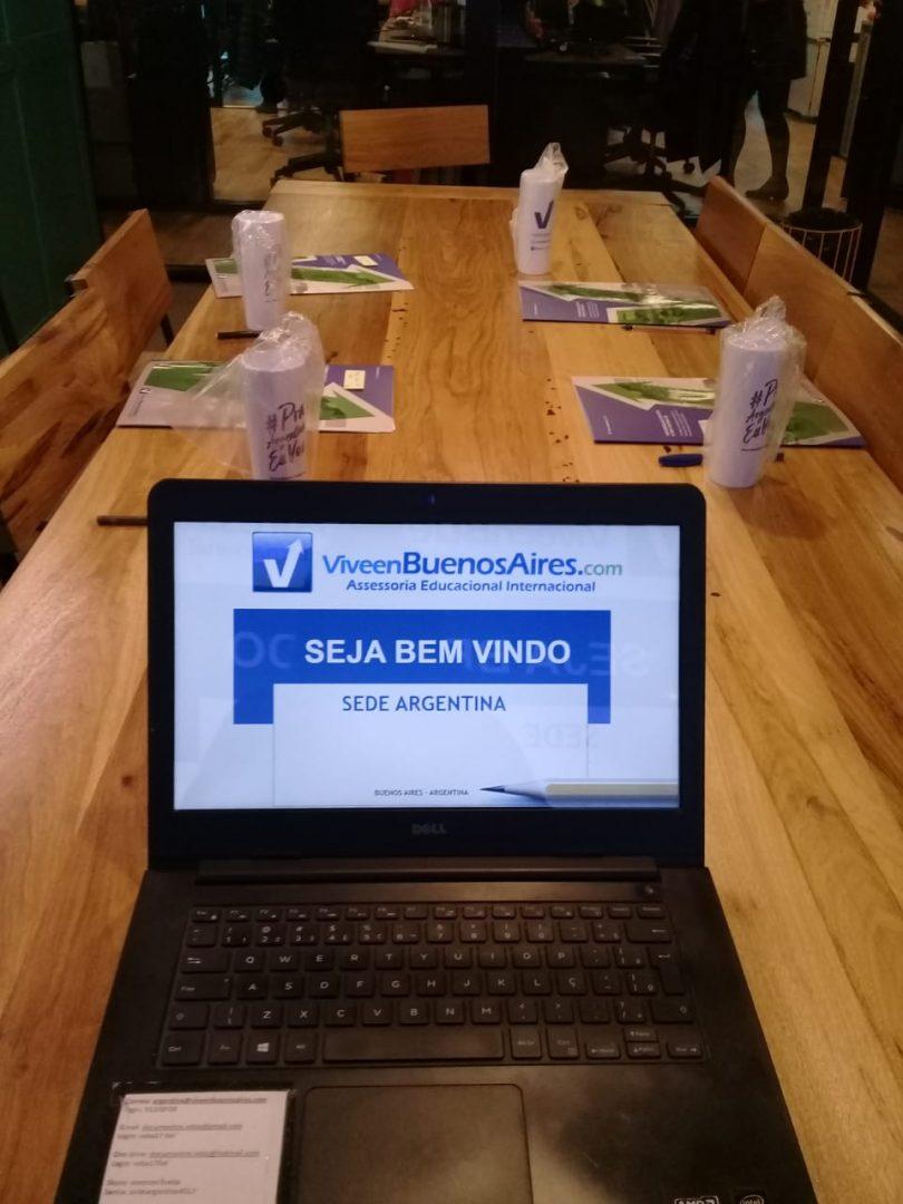 Reunião Sede ViveenBuenosAires.com - Julho 2019