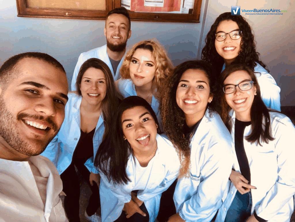 Turma Medicina em La Plata