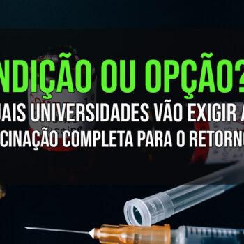 Universidades Vacinação